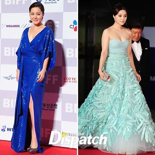 Eom Ji Won và Phạm Băng Băng
