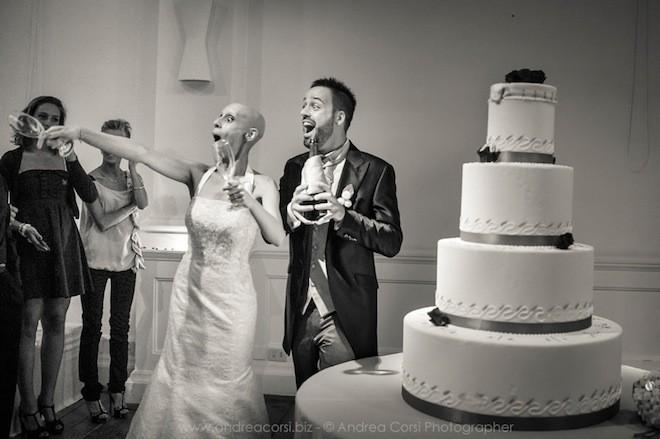 Đám cưới được diễn ra hết sức vui nhộn