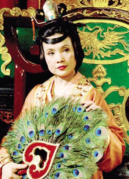 Nghệ sỹ Lan Hương trong hình ảnh ĐàmHoàng hậu. Ảnh:TL