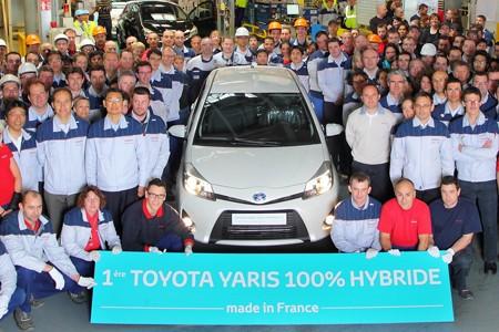 Toyota lắp ráp Yaris Hybrid tại Pháp - ảnh 1