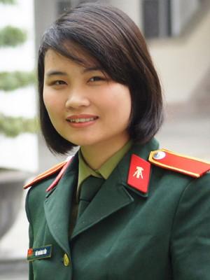 Vũ Hoàng Yến, lớp Thông tin 2, Đại đội 345, Tiểu đoàn 3, Học viện Kỹ thuật Quân sự .