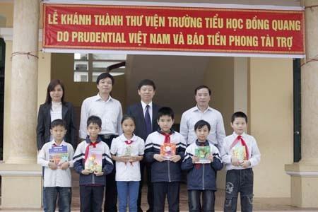 Lễ khánh thành thư viện Đồng Quang