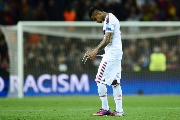 Nỗi thất vọng Milan. Ảnh: Getty Images
