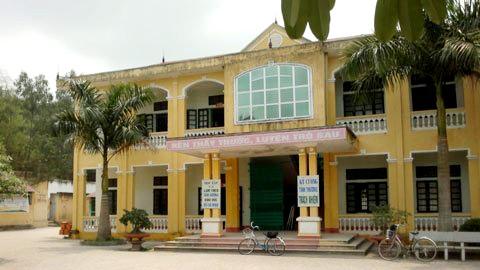 Trường THPT Tam Đảo 2, Vĩnh Phúc nơi hung thủ Đào Văn Tài đang theo học