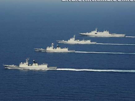 Tàu chiến Trung Quốc 'diễu võ dương oai' ở Trường Sa - ảnh 5