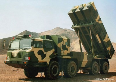Pháo phản lực WS-1 Trung Quốc