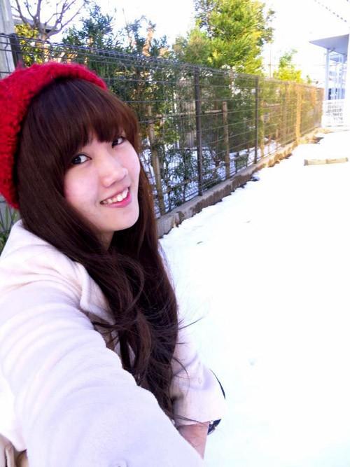 Cô gái dễ thương Nguyễn Thu