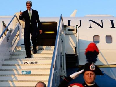 Ngoại trưởng John Kerry đến Roma dự hội nghị Những người bạn của Syria