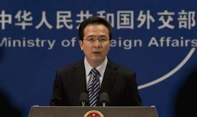Người phát ngôn Bộ Ngoại giao Trung Quốc Hồng Lỗi