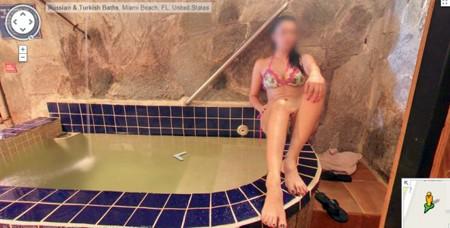 Trong một nhà tắm kiểu Thổ Nhĩ Kỳ