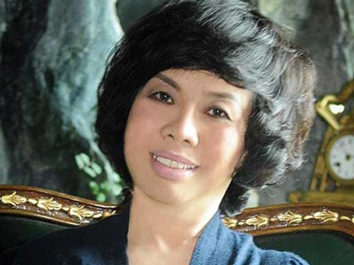 Bà Thái Hương - Tổng giám đốc ngân hàng thương mại cổ phần Bắc Á - nhà tư vấn đầu tư công ty cổ phần thực phẩm sữa TH