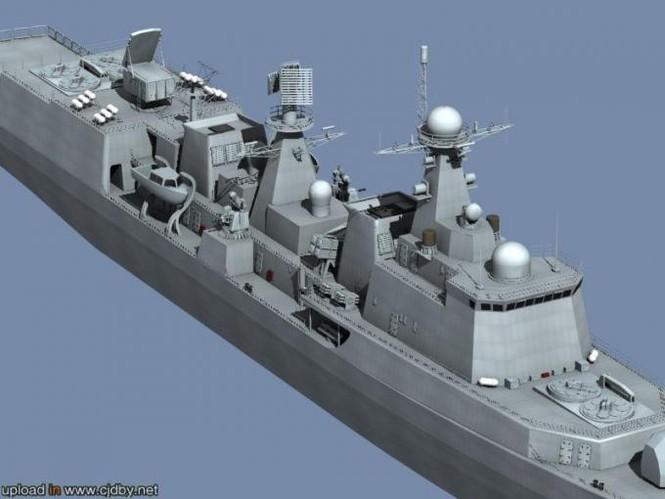 'Nội soi' tham vọng khu trục hạm Trung Quốc - ảnh 6