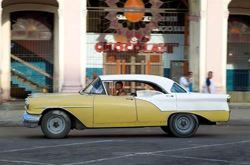 Xế cổ tại thủ đô Cuba - ảnh 9