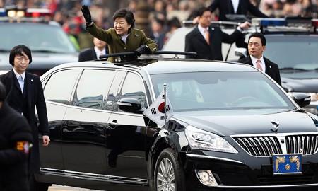 Khám limousine của nữ Tổng thống Hàn Quốc - ảnh 4