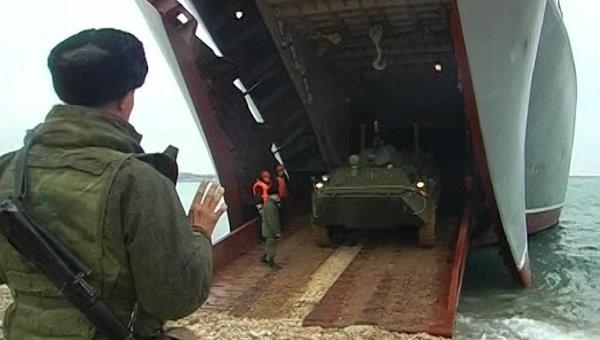Nga điều động quân tới cuộc tập trận
