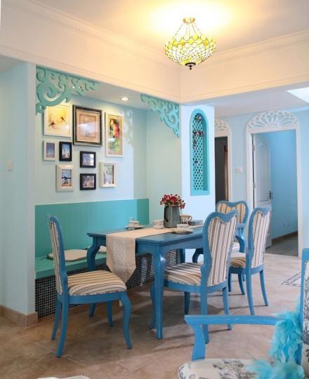 Nội thất xanh dương cho nhà mát lạnh - ảnh 14