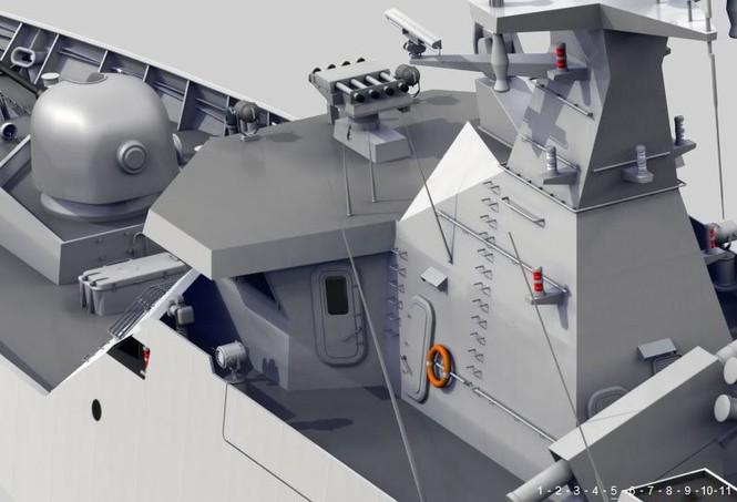 Phần đài điều khiển tầu