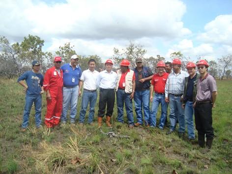 Các chuyên gia dầu khí Việt và Venezuela đang làm việc tại Junin- 2