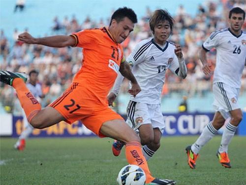 Đà Nẵng có chiến thắng ở ngày ra quân AFC Cup 2013. Ảnh: An Nhơn
