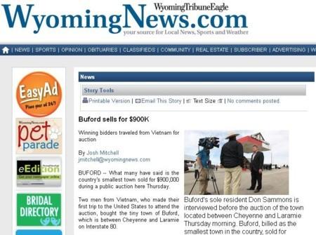 Tin thị trấn Buford bị bán cho 1 người Việt Nam đang thu hút dư luận