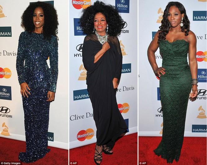 Nữ ca sĩ Kelly Rowland, Diana Ross và tay vợt Venus William cũng xuất hiện tại buổi tiệc