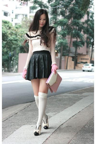 Diện chân váy da sành điệu như sao - ảnh 3