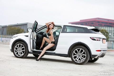 Chân dài cực nóng bên Range Rover Evoque (Phần II) - ảnh 6