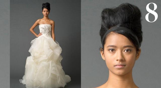 Mười kiểu tóc cô dâu 'hot' năm 2011 - ảnh 7