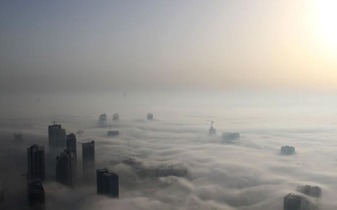 Thành phố Dubai chìm đắm trong sương mù - ảnh 9