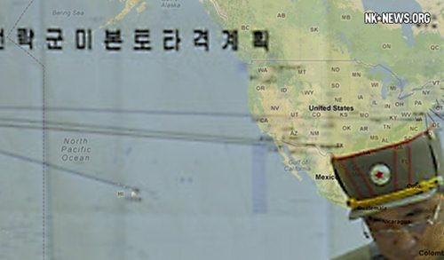 Bản kế hoạch chỉ rõ các mục tiêu trọng yếu đầu tiên ở Mỹ mà Triều Tiên nhắm vào để tấn công trước trong trường hợp khai chiến với đối thủ