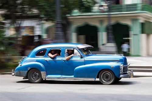 Xế cổ tại thủ đô Cuba - ảnh 12