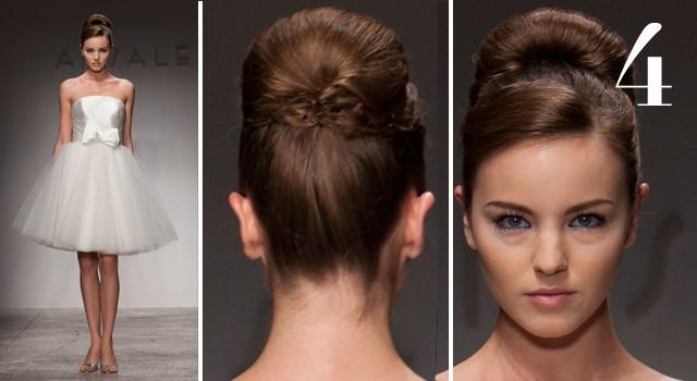 Mười kiểu tóc cô dâu 'hot' năm 2011 - ảnh 3