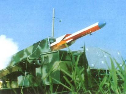 C-802 bắn từ bệ phóng mặt đất