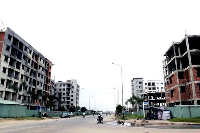 Nhiều khu chung cư xã hội chuẩn bị hoàn thành. Ảnh: Nguyễn Huy