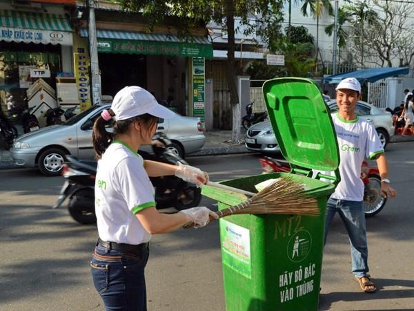 ĐVTN hành động vì môi trường xanh sạch đẹp