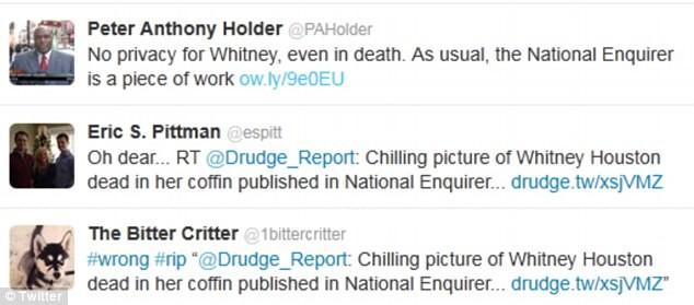 Ngay sau khi bức ảnh này được đăng tải, rất nhiều bình luận trên trang mạng cá nhân Twitter bày tỏ họ cảm thấy rất sốc