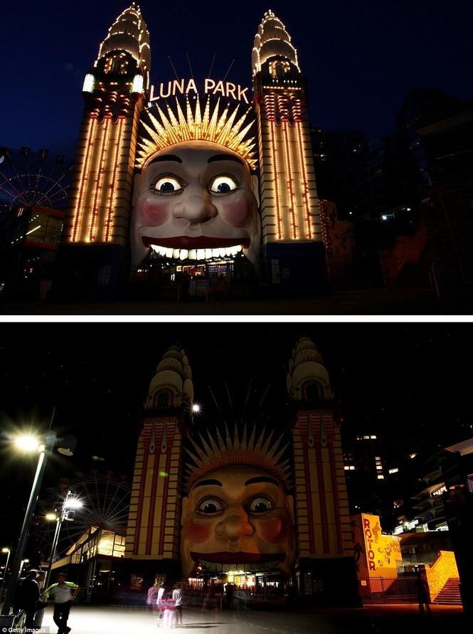 Công viên Luna (Australia) tắt điện