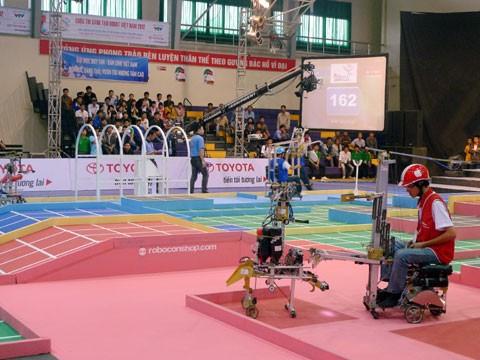 Vòng loại miền Trung mở màn mùa Robocon 2012 - ảnh 1
