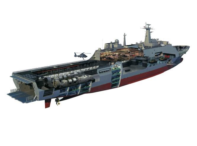 Sơ đồ mô phỏng 3D tầu đổ bộ, chỉ huy và cầu tầu mobile.