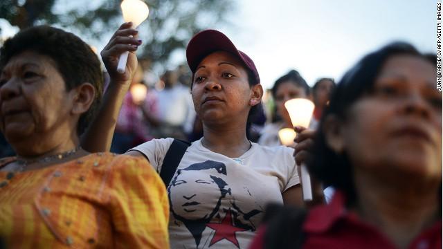 Người dân Venezuela trước sự ra đi của tổng thống Hugo Chavez