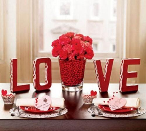 Những ý tưởng trang trí lãng mạn cho Valentine - ảnh 12