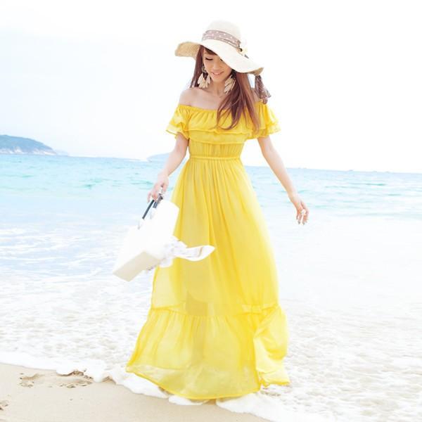 Váy maxi tung tăng đón nắng hè - ảnh 16