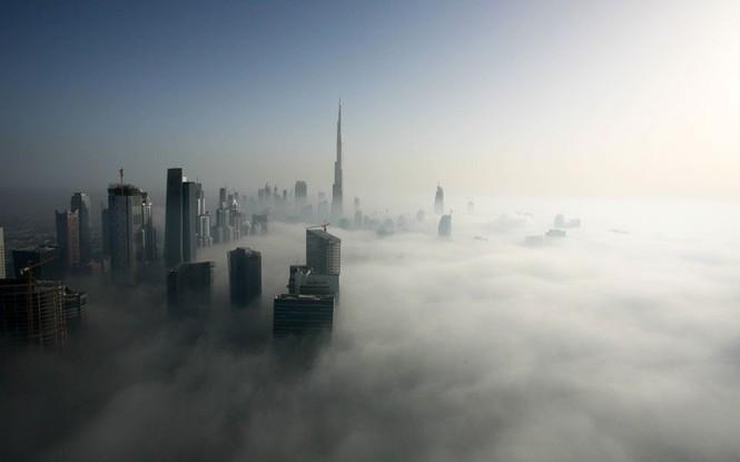 Thành phố Dubai chìm đắm trong sương mù - ảnh 8