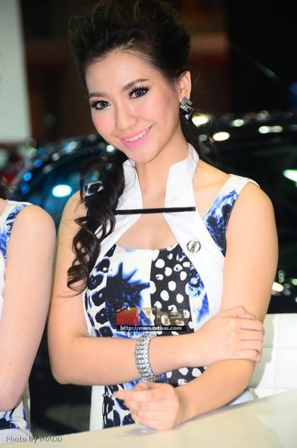 Nhan sắc ngập tràn triển lãm Bangkok 2013 - ảnh 16