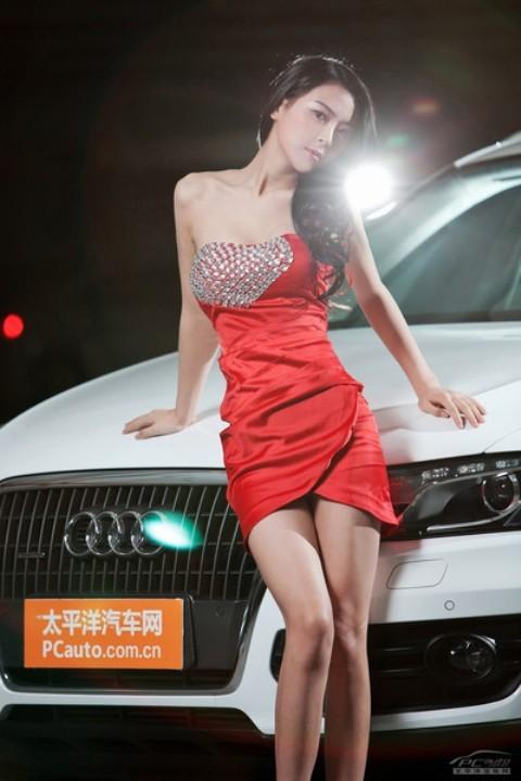 Chân dài đọ nhan sắc với xế hộp Audi - ảnh 6