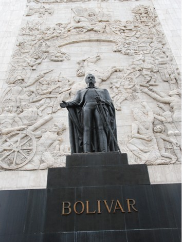 Tượng Đài anh hùng Châu Mỹ Latinh Simon Bolivar
