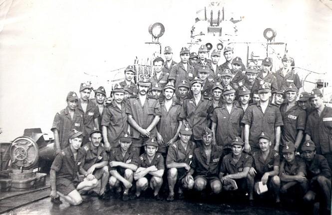 Tháng 2 năm 1979, Biển Đông.Thủy thủ đoàn MT