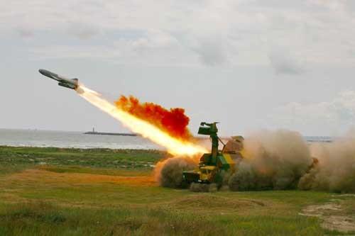 Hệ thống phòng thủ bờ biển 4K51 Rubezh khai hỏa tiêu diệt tàu chiến đối phương