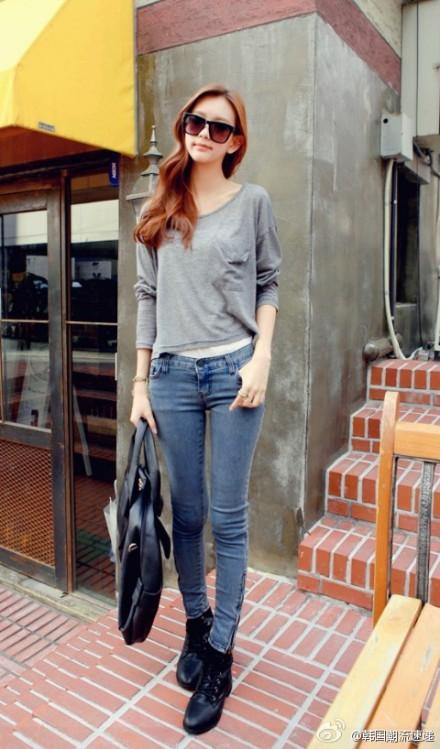 Cuối tuần xuống phố cực chất với quần jeans - ảnh 18
