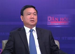 Bộ trưởng Bộ GTVT Đinh La Thăng. Ảnh: VGP/Thanh Bình